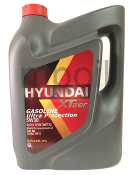 Масло Hyundai XTeer Gasoline Ultra Protect 5W30 6л
