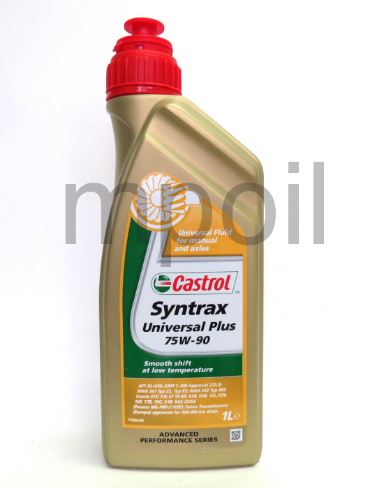 Масло трансм. CASTROL Syntax Universal Plus 75W-90 1л