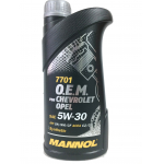 Масло MANNOL 7701 O.E.M. for  Chevrolet Opel  5w30 1л