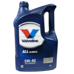 Масло Valvoline ALL CLIMATE 5W40 5л