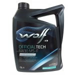 Масло WOLF OFFICIALTECH 5W30 MS-F 5L