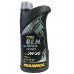 Масло MANNOL 7709 O.E.M. for TOYOTA LEXUS 5W-30 1л